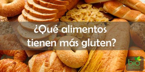 que-alimentos-tienen-mas-gluten